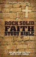 Niv, Rock Solid Faith Study Bible For Teens, Hardcover