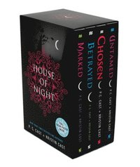 House of Night Set: Marked, Betrayed, Chosen, Untamed [With Poster]
