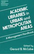 Academic Libraries in Urban and Metropolitan Areas