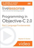 Programming in Objective-C 2.0 LiveLessons (Video Training)
