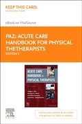 Acute Care Handbook for Physical Therapists E-Book