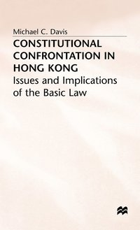 Constitutional Confrontation in Hong Kong