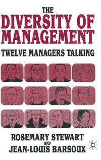 rosemary stewart management theory