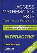 Access Mathematics Tests Interactive (AMTi) 1 &; 2 Network CD-ROM