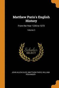 Matthew Paris's English History