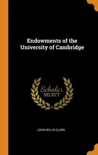 Endowments Of The University Of Cambridg