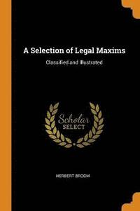 Selection Of Legal Maxims
