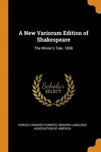 New Variorum Edition Of Shakespeare