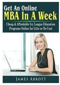 Get An Online MBA In A Week