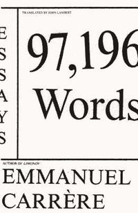 97,196 Words: Essays