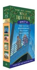 Magic Tree House Books 17-20 Boxed Set: The Mystery of the Enchanted Dog