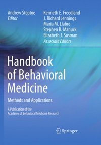 Handbook of Behavioral Medicine