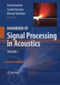 Handbook of Signal Processing in Acoustics