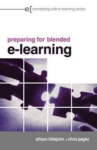 preparing for blended e-learning