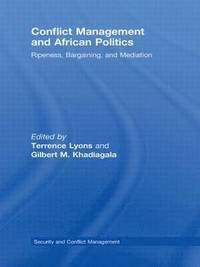 Conflict Management and African Politics