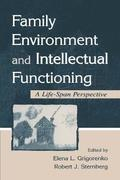 Family Environment and Intellectual Functioning