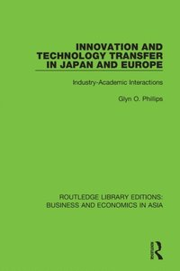 Innovation and Technology Transfer in Japan and Europe