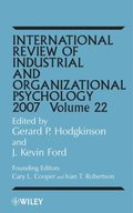 International Review of Industrial and Organizational Psychology 2007