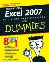 Excel 2016 All-in-One For Dummies - Greg Harvey - Häftad