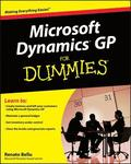 Microsoft Dynamics GP for Dummies