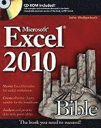 Excel 2010 Bible Book/CD Package