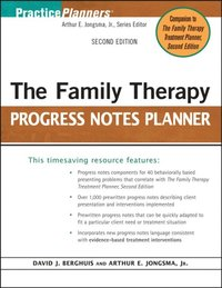 Family Therapy Progress Notes Planner