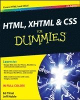 HTML, XHTML & CSS For Dummies 7th Edition