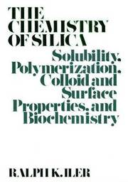 The Chemistry of Silica