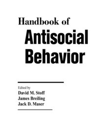 Handbook of Antisocial Behavior