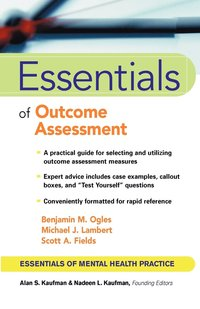 Essentials of Outcome Assessment