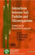 Interactions between Soil Particles and Microorganisms
