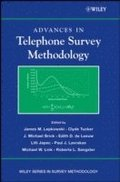 Advances in Telephone Survey Methodology
