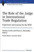 The Role of the Judge in International Trade Regulation
