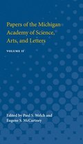 Papers of the Michigan Academy of Science, Arts and Letters