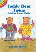 Teddy Bear Twins Sticker Paper Dolls