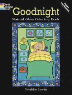 Goodnight Stained Glass Coloring Book