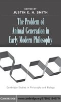 Problem of Animal Generation in Early Modern Philosophy