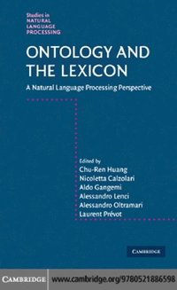 Ontology and the Lexicon