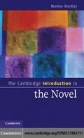 Cambridge Introduction to the Novel