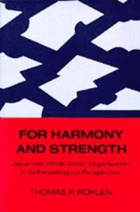For Harmony and Strength