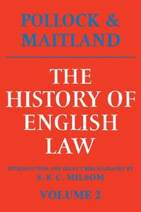 The History of English Law: Volume 2