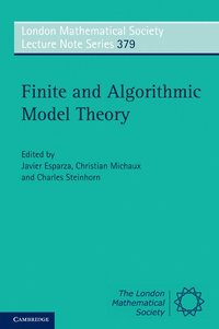 Finite and Algorithmic Model Theory