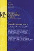 The Interregnum: Controversies in World Politics 1989-1999