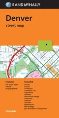 Rand McNally Folded Map: Denver Street Map