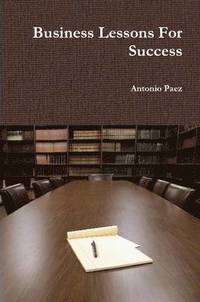 Business Lessons for Success