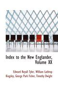 Index to the New Englander, Volume XX
