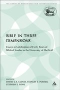 Bible in Three Dimensions