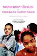 Adolescent Sexual and Reproductive Health in Nigeria