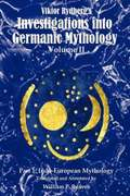 Viktor Rydberg's Investigations Into Germanic Mythology, Volume II, Part 1