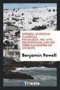Cornell Studies in Classical Philology, No. XVII